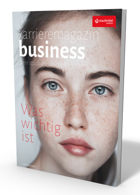 Cover des Karrieremagazin Business