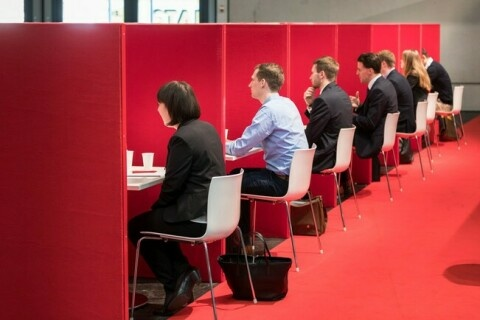 Speed Dates auf dem Absolventenkongress